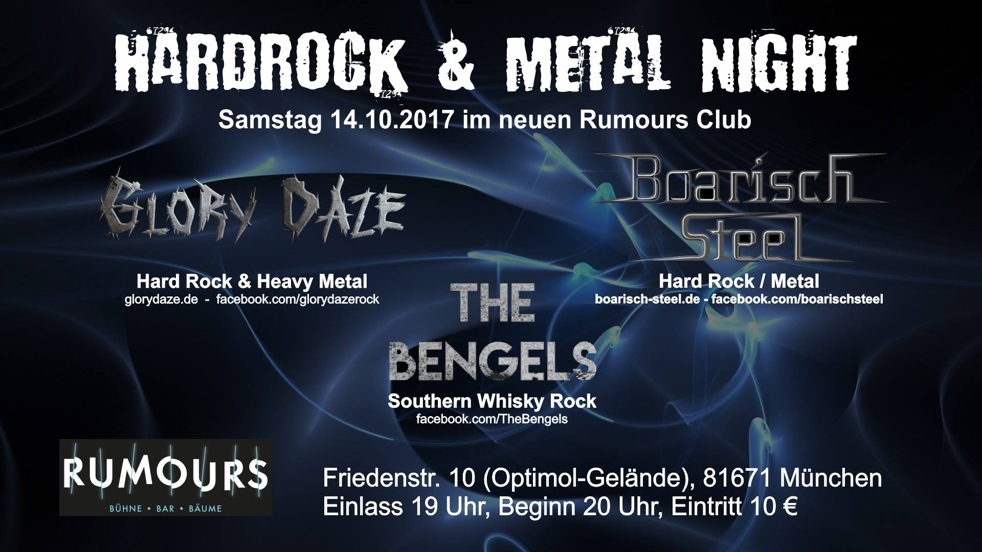 Hard Rock and Metal Night